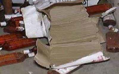 गुजरात:पुलिस ने भाजपा के मंत्री समेत 45 नेता को शराब पार्टी जमाते किया आर्रेस्ट,साथ ही 11,26,400 रूपये,29 मोबाइल,18 गाड़ियां भी किया जब्त।