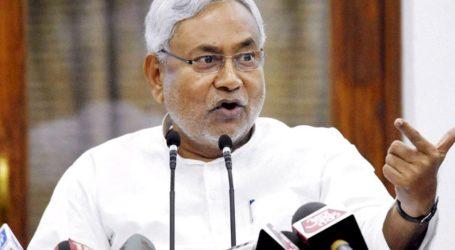 गोडसे विवाद पर नीतीश बोले-साध्वी का बयान बर्दाश्त से बाहर,पार्टी से बाहर करे BJP