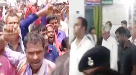 SKMCH में CM नीतीश पीड़ित बच्चों का हाल जानने पहुंचे,लोगों ने मुख्यमंत्री वापस जाओ के नारे लगाए