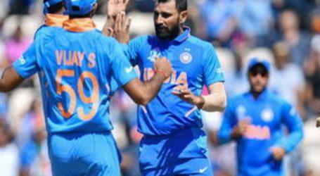वर्ल्ड कप:शमी की हैट्रिक के साथ भारत की लगातार चौथी बार जीत,अफगानिस्तान को 11 रन से हराया