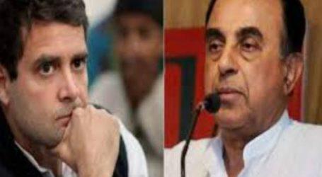 सीतामढ़ी:राहुल पर आपत्तिजनक टिप्पणी के खिलाफ कांग्रेस नेता शम्स शहनवाज ने स्वामी पर FIR किया दर्ज