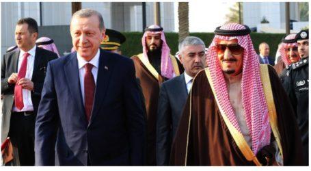 सऊदी किंग और क्राउन प्रिंस ने तुर्की गणतंत्र की सालगिरह पर एर्दोगन को दी बधाई