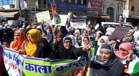 CAA-NPR व NRC के खिलाफ दिल्ली के शाहीनबाग की तरह सीकर मे महिलाओं का आंदोलन शुरु।