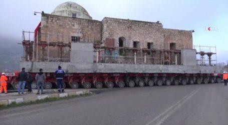 तुर्की ने रचा इतिहास,609 साल पुरानी मस्जिद को पहियों पर लाद कर दूसरी जगह किया शिफ्ट