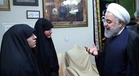 क़ासिम सुलेमानी की बेटी ने हसन रूहानी से कहा कौन लेगा मेरे पिता के मौत का बदला