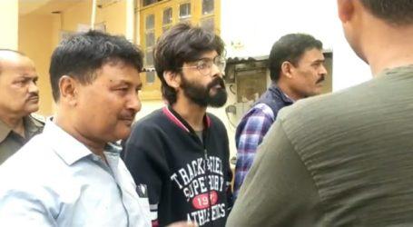 कामरूप (मेट्रो) सीजेएम कोर्ट ने शरजील को फिर भेजा चार दिनों की रिमांड पर।