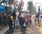 कृषि क़ानूनों के ख़िलाफ़ किसानों का 'रेल रोको' आंदोलन शांतिपूर्ण रहा।
