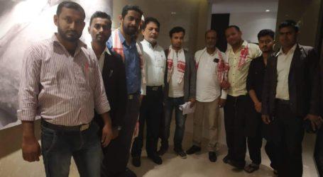 असम:युवा सामाजिक कार्यकर्ता तौसिफ हुसैन रेजा के नेतृत्व मे नॉर्थ ईस्ट माइनॉरिटी चेम्बार्च अफ कमार्च का हुआ गठन।