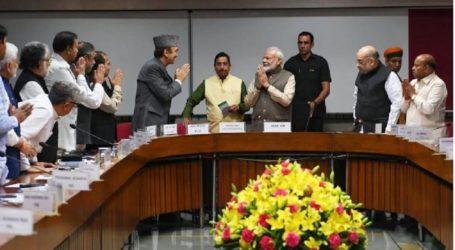 BREAKING:सर्वदलीय बैठक में बोले मोदी,CAA,कश्मीर सभी पर विपक्ष से बहस को तैयार