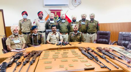 तरनतारन पुलिस को मिली बड़ी सफलता राजा गन हाउस में चोरी करने वाले 3 आरोपी 9 एयर गन, 263 रौंद के साथ किया गिरफ्तार