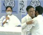 बंगाल बीजेपी में बड़ी बग़ावत ,ममता की मौजूदगी में बेटे के साथ मुकुल रॉय की घर वापसी