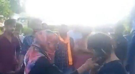 हिन्दू जागरण मंच के लोगों ने युवती से मुस्लिम दोस्त की पिटाई करवाई थी ,युवती ने हिन्दू संगठन पर दर्ज कराई FIR